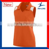 Comfortable Best Price Women Volleyball Shirts Uniform Design