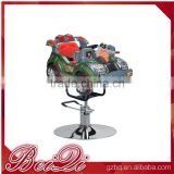 high quality salon blue barber chair for baby with colorful style in China