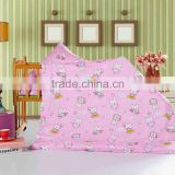 Trade Assurance 100%cotton environmental pigment printed soft fabric for kids home textile flat sheet Russia market