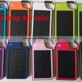 Design Patent Factory Wholesale Solar Charger 4050mAh Solar Power Bank Key Chain Power Bank