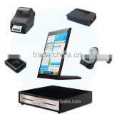 10 inch touch screen wireless pos terminal for android wifi bluetooth pos system integrated machine M:1691