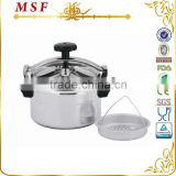 German kelomat aluminum pressure cooker with temperature control & heat resistant bakelite handles MSF-3766                                                                         Quality Choice