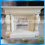 Exquisite carved fireplace mantel