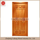 luxurious solid rubber wood MDF interior wooden timber door