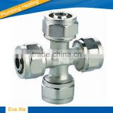 compression cross for pex-al-pex pipe - SU260015