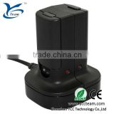 Hot sell + factory price ! dual chager charging sation for xbox 360 quick charge kit with nimh rechargeable battery pack