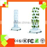 2016 NEW Tower Garden 6 Pcs Each floor Hydroponics system for greenhouse/indoor planting system/garden decoration/