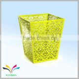 Hangzhou manufacture best sale dusty scrap metal bins for sale stainless steel square waste bin