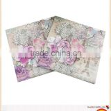 White dinner paper napkin/Promotional Logo Printed Napkin Paper                                                                         Quality Choice