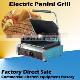Stainless steel teppanyaki griddle electric sandwich press panini grill
