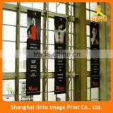 2016 Full color double side banner print 2 sides banner printing with eyelets manufacturer