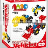 BNE100828 IQ vehicles block 100pcs DIy Educational toys building block set