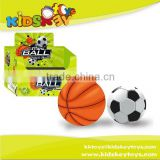 Outdoor play12pcs pu soccer ball PU mini basketball toy foot ball
