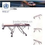 funeral aluminum automatic loading stretcher trolley for body transfer,funeral coffin transport stretcher