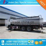 20CBM capacity Dongfeng 6*4 fuel bowser truck, petrol tanker truck, used oil truck for sale