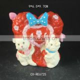 Baby's 1st Birthday Present Porcelain Teddy Money Box