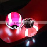 Magic ball 1000mAh pokemon ball power blank portable power source with LED Pokeball Power bank