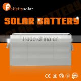 Felicity sola Buy Europe type recharge gel battery 12v 150ah solar energy storage battery