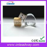 Corporation giveaways heart shape crystal usb flash drive