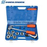 DSZH CT-100A Lever Tube Expanding Tool Kit Air Condition Swaging Pipe Copper 7pc Pipe Expander