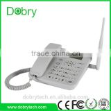 China factory 3G UMTS wireless desktop telephone, WCDMA gsm home phone with SMS, FM radio and Multi-language