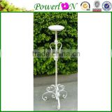 Vintage Antique Metal Standing Wrough Iron Candle Holder Home Furniture For Decoration Indoor TS05 G00 C00 X00 PL08-5840