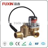 water magnetic valve stainless steel filter flow control brass electric water valve