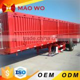 New fence semi trailer awning cargo box semi trailer for sale
