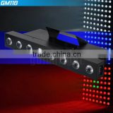 LED Sound-activated Laser DJ DISCO PARTY Stage Club Wedding Light Projector