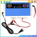 New 12-24V 10A Digital LCD Car Battery Charger Motorcycle Power supply Cord US plug hot selling