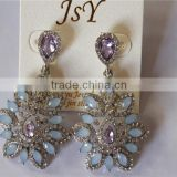 Crystal Fashion Imitation Jewellery Jewelry Earring