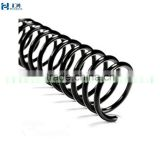 10mm Black Plastic Coil Binding Supplies, Spiral Plastic Coil Binders Sale