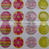 OEM factory price custom resin polyurethane dome stickers
