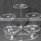 china supply smail acryliic cupcake stand