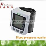 Wrist type automatic wrist blood testing meters