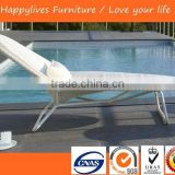 MT2555 Rattan outdoor bed day bed used chaise lounge Good Quality Made in China