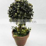 2014 Artificial Fake synthetic boxwood double topiary ball tree