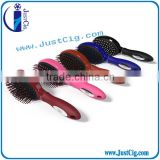 JustCig manufacturer plastic curved vent hair brush hair comb