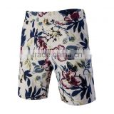 New fashion Men's flower print summer beach shorts