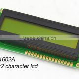 Transflective 2x16 lcd character display ( LH1602A)