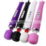 10 Speed Magic Wand Travel Massager Sexy Women Toy Vibrators Adult Sex Products 4 Colors Random Delivery