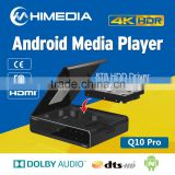 2016 Hot 4K UHD Android media player Himedia Q10pro Android Box Kodi 16.0 Google browser HDD dolby support