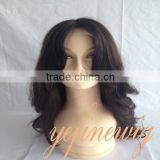 Factory Price High Quality Chinese Virgin Hair Full Lace Wig