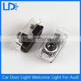2016 Car Accessaries Led Car Door Logo Light Laser Projector Logo Ghost Shadow Light Welcome Light for audi
