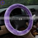 Hot sell !! ZHIXIA Brand High quality PU leather car steering wheel covers made in China