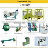 China supplier automatic wheat/corn/maize/teff/rice/barley/grain flour milling machine plant/ flour mill machine with price
