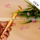 Beauty Bar 24k Golden Pulse Facial Massager T Shape Energy Beauty Bar Beauty Accessory