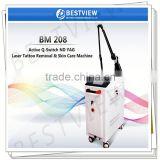 Best selling Beauty Equipment ND Yag Laser Tattoo Removal Machine For Women Skin Rejuvenation