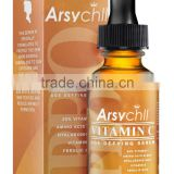Black spot removal private label print 30ml whitening moisturizing hyaluronic acid vitamin c serum