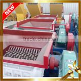 Small 400 Waste Plastic Wood Tire Double shaft shredder machine Plastic Crushing Machines